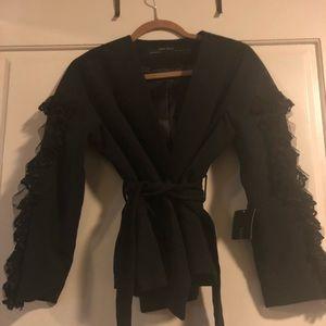 Brand New Zara Black Blazer Size XS